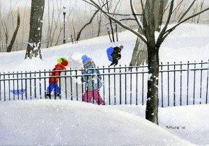 Riverdale Snowman