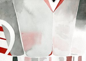 Red White and Gray