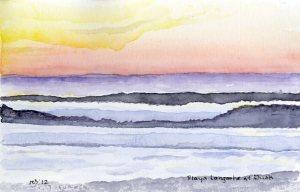 Playa Langosta at Dusk