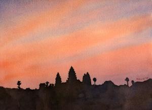 Angkor Wat Sunrise I