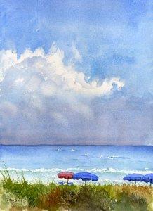 Delray Beach Umbrellas