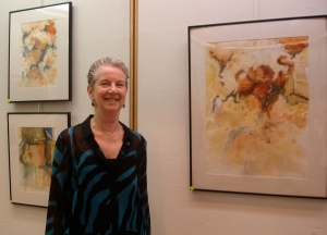 Ruth Hurd and her paintings