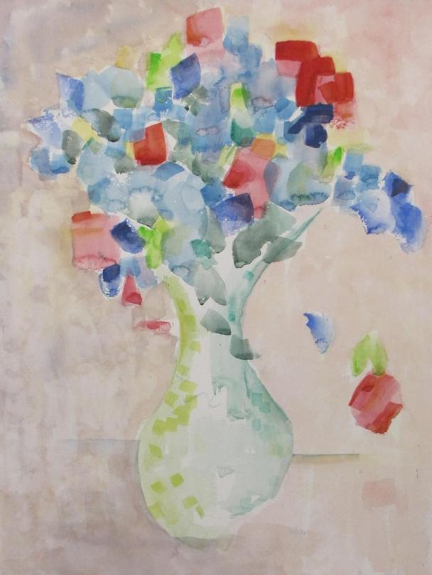Flowers a la deStael II