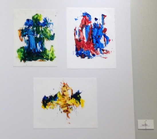 My paintings on Yupo