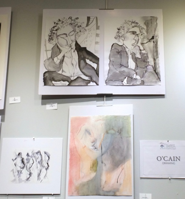 Varied work in O'Cain Class Show