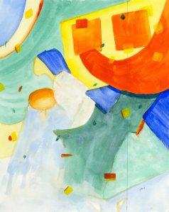 Wishing (initial painting)
